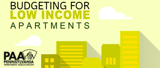Budgeting in Low Income Housing