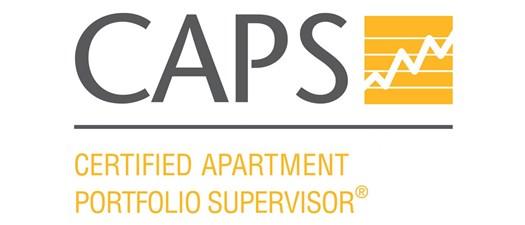 Certified Apartment Portfolio Supervisor (CAPS)  Whole Course Spring 2022