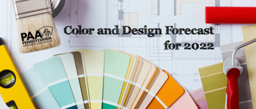 Color and Design Forecast for 2022