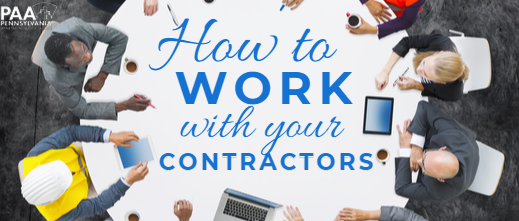 How to Work with Your Contractors