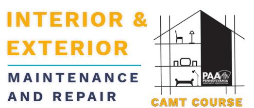 Basic Interior and Exterior Maintenance and Repair