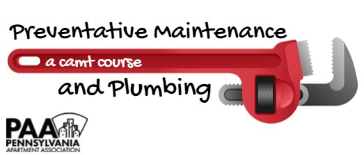 CAMT -  Preventative Maintenance & Plumbing (Spring 2022)