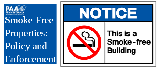Smoke-Free Properties: Policy and Enforcement