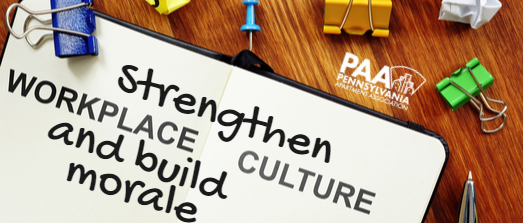 Strengthen Workplace Culture and Build Morale