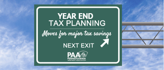 Year End Tax Planning - Move for Major Tax Savings