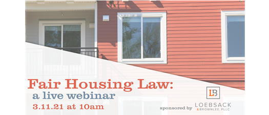 Fair Housing Law Webinar