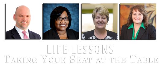 Life Lessons Series: Taking Your Seat at the Table