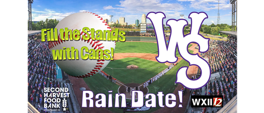 Fill the Stands With Cans: @ Winston-Salem Dash