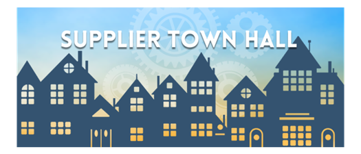 Suppliers Town Hall
