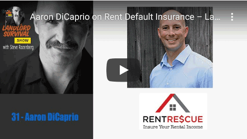 Aaron DiCaprio on Rent Default Insurance - Landlord Survival Show 31