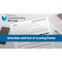 Selection and Use of Leasing Forms