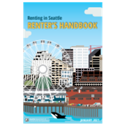 Seattle Renter's Handbook (delivered to you, or directly to new tenant)