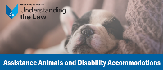 Assistance Animals & Disability Accommodations