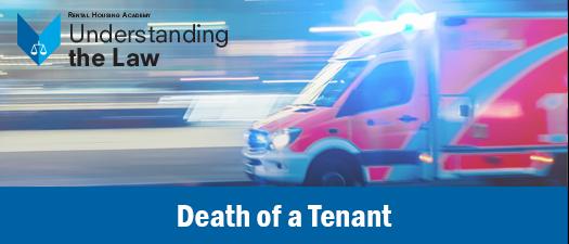 Death of a Tenant