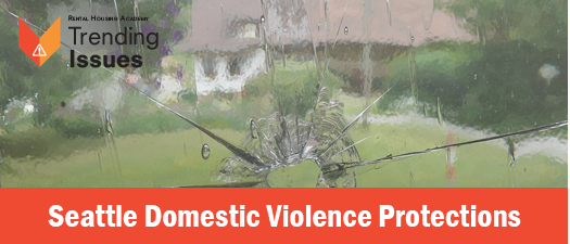 Seattle Domestic Violence Protections I Rescheduled TBD