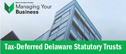 Tax-Deferred Delaware Statutory Trusts