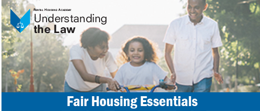 Fair Housing Essentials - CANCELLED