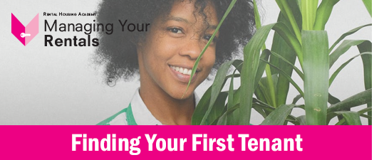 Finding Your First Tenant