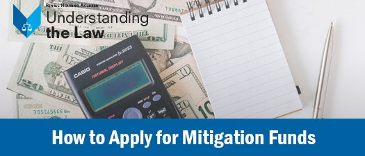 How to Apply for Mitigation Funds