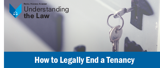 How to Legally End a Tenancy