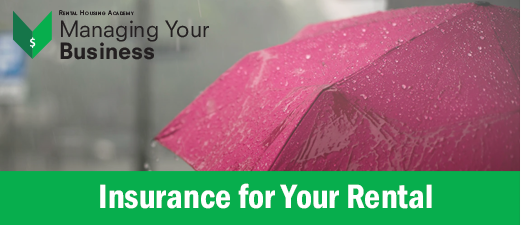 Insurance for Your Rental