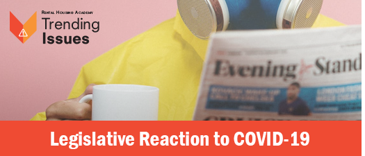 Legislative Reactions to COVID-19