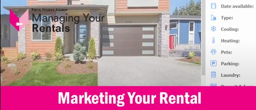 Marketing Your Rental