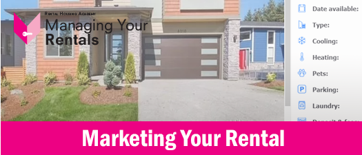Marketing Your Rental