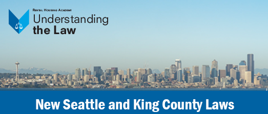 New Seattle and King County Laws