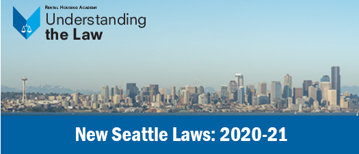 New Seattle Laws