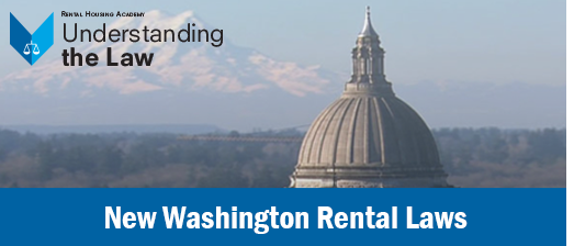 New Washington Rental Laws
