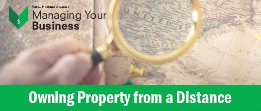 Owning Property from a Distance