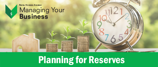 Planning for Reserves