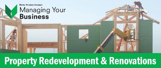 Property Redevelopment & Renovations