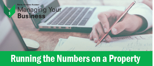 Running the Numbers on a Property