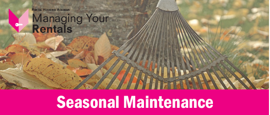 Seasonal Maintenance I ONLINE ONLY