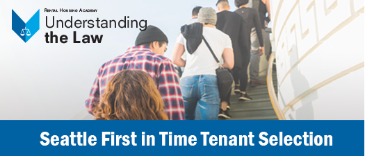 Seattle First in Time Tenant Selection Seminar