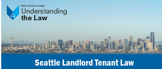 Seattle Landlord-Tenant Law Seminar