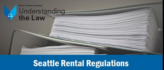 Seattle Rental Regulations