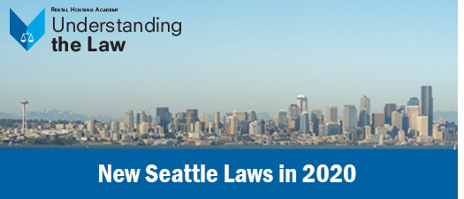 New Seattle Laws in 2020