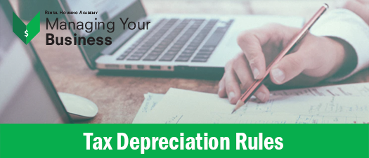 Tax Depreciation Rules for Residential Rentals