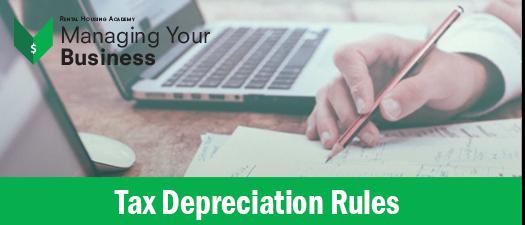 Tax Depreciation Rules