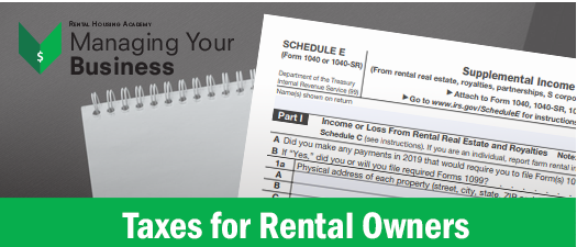 Taxes for Rental Owners