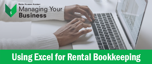 Using Excel for Rental Bookkeeping