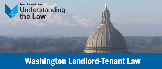 Washington Landlord-Tenant Law Seminar