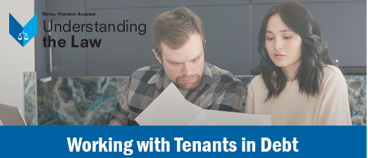 Working with Tenants in Debt