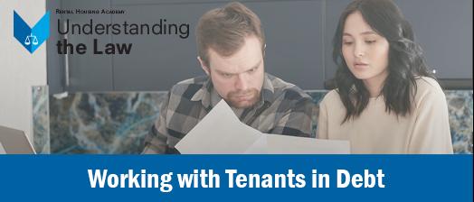 Working with Tenants in Debt through ERP