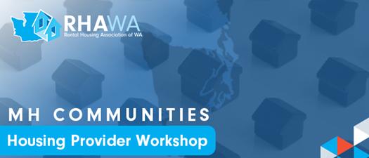 2021 MHC Housing Provider Workshop