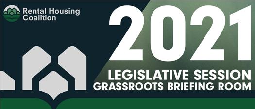 2021 Legislative Session Grassroots Briefing Room
