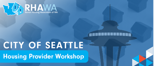 Seattle Housing Provider Workshop